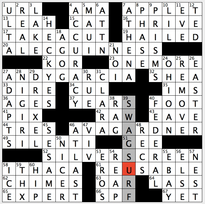 flirting with disaster star crossword clue game: