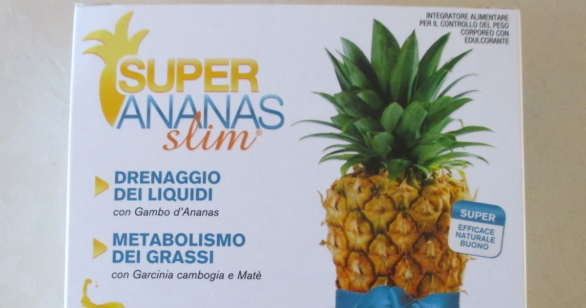 compresse ananas per dimagrire