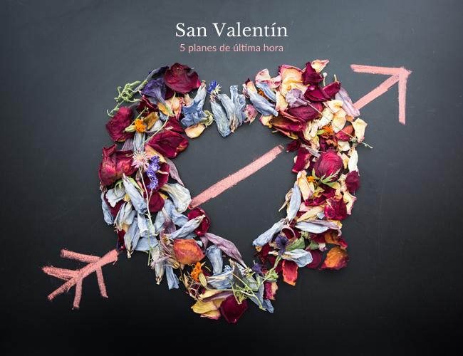 5 planes de última hora para San Valentín