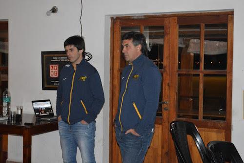 Capacitación UAR de juego reducido en Salta, dictada por Lucas Borges y Diego Rodríguez.