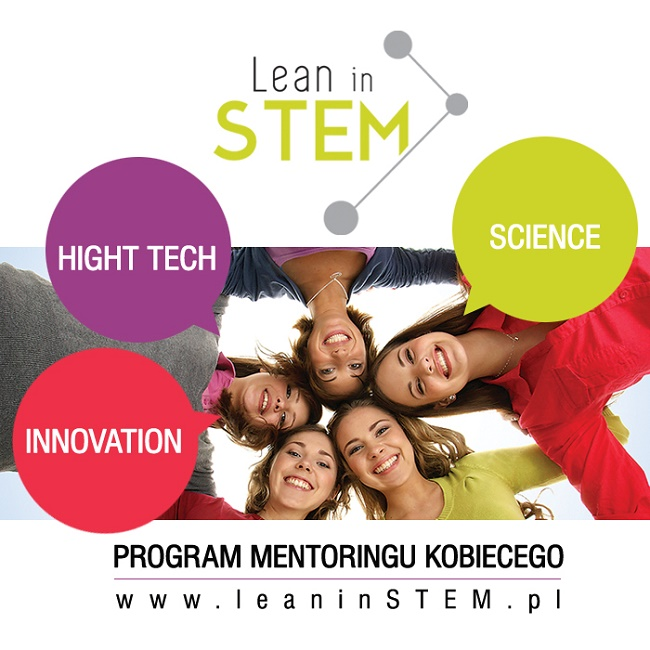Lean in STEM - plakat