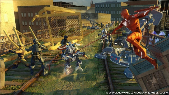 Marvel Ultimate Alliance 2 - Download game PS3 PS4 RPCS3 PC free