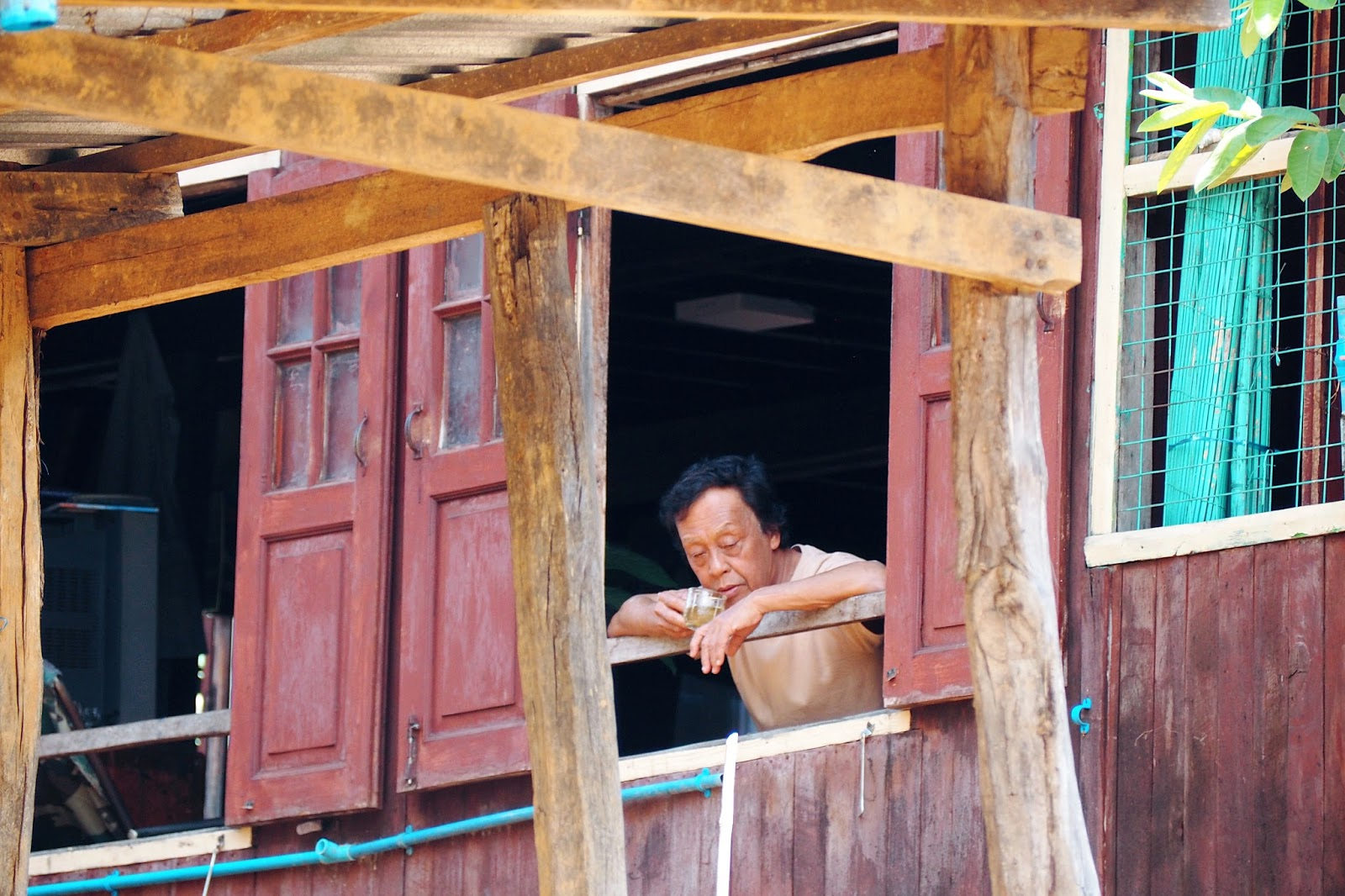 local life in floating village, Inle Lake