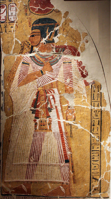 Representation of the defied King Amenhotep I