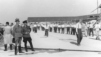 Appelplaats concentratiekamp Dachau