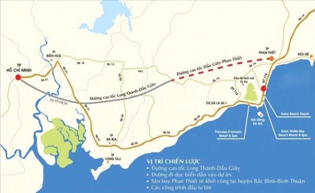 Dự Án Cao tốc Dầu Giây - Phan Thiết