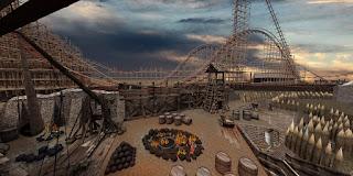 "Energylandia's ""Zadra"" RMC Coaster Details + POV"
