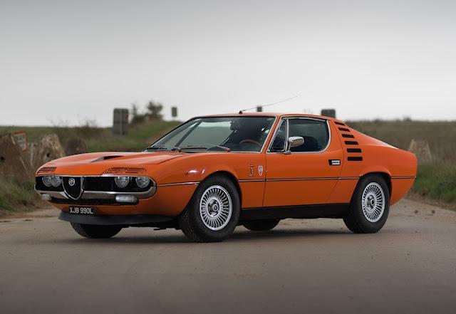 Alfa Romeo Montreal 1970s Italian classic sports car