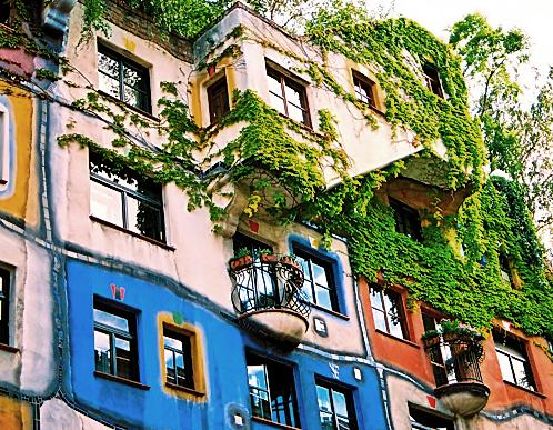 Passeio pelo Hundertwasserhaus e região em Viena