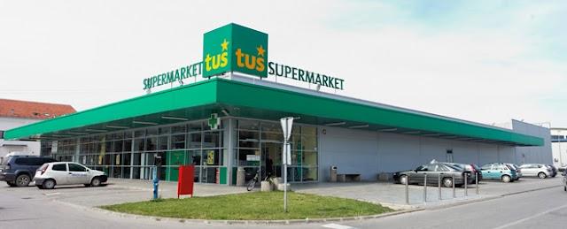 Slowenische Tuš Supermarktkette zieht sich aus Mazedonien zurück