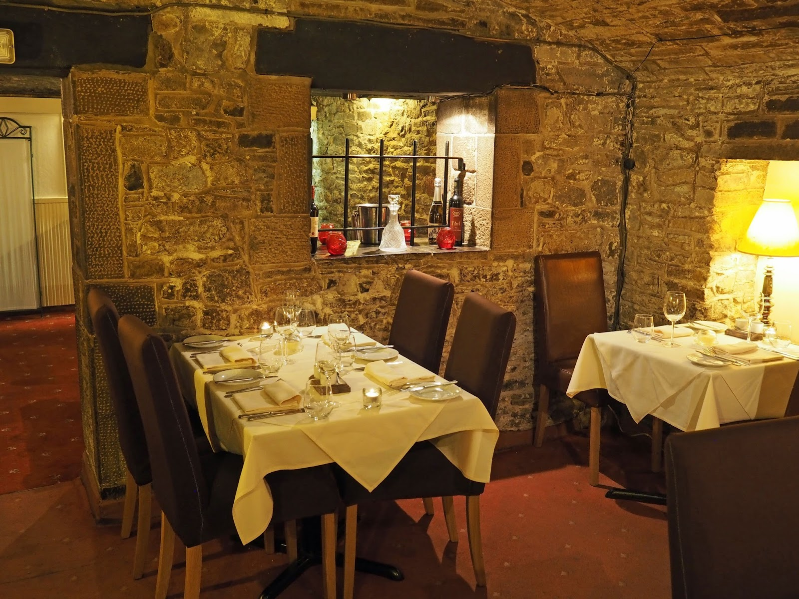 Le Caveau, excellent French restaurant in Skipton, North Yorkshire