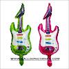 Balon Foil Gitar Mini (NEW COLOUR)