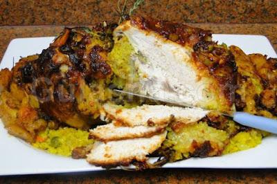 دجاج رستو بالارز والخضروات