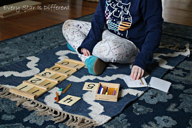 How to Learn Teen Numbers Using the Montessori Math Bead Bar Bundle