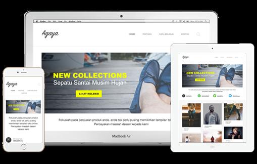 Agaya Premium Blogger Template