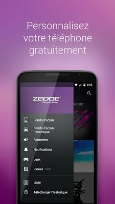 Télécharger ZEDGE™ Sonneries, Fonds d'Ecran