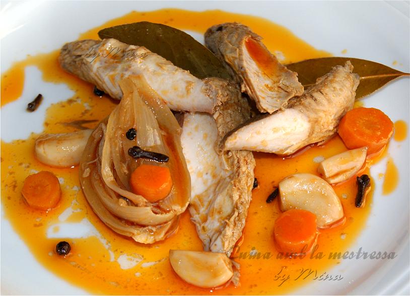 Cocinar Melva Fresca | Cuina Amb La Mestressa Melva En Escabeche