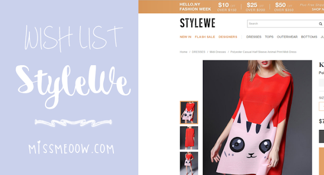 Wish List: StyleWe