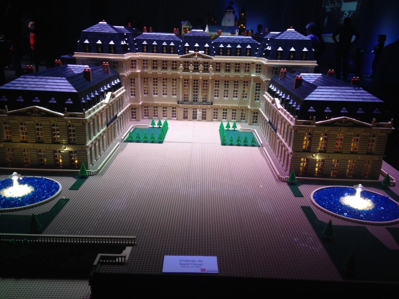 Lego, château de Saint-Cloud