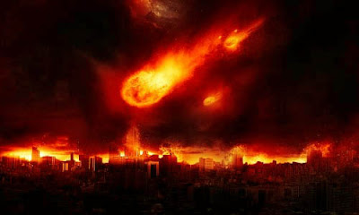 Membuat Efek Meteor Jatuh Ke Bumi
