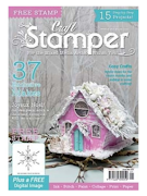 Proud to be published in Craft Stamper magazine Jan 2018
