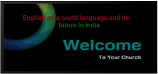 essay on future of english language in india