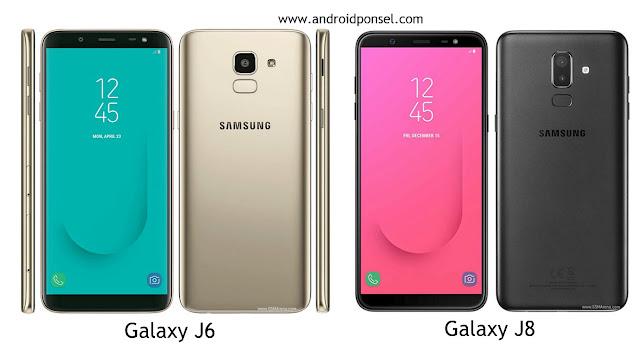 Perbandingan Spesifikasi Samsung Galaxy J6 dan Galaxy J8, Lengkap!