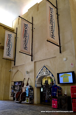 souvenir shop at Yas Waterworld