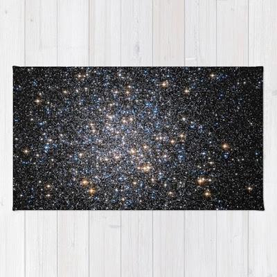 Glittery Starburst Accent Carpet
