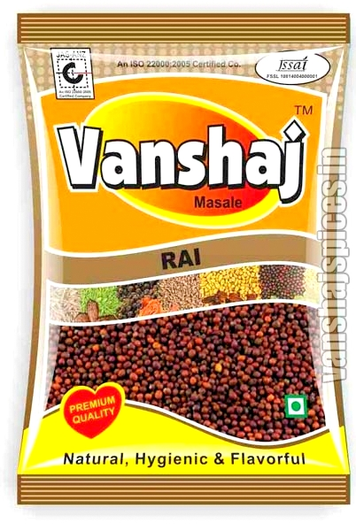 Red Mustard Seeds ( Rai ) image of Vanshaj Spices.com