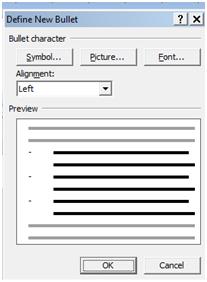 Cara Membuat Bullet dan Numbering di Microsoft Word