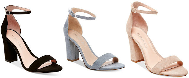 Madden Girl Bella Two-Piece Block Heel Sandals $34 (reg $49)