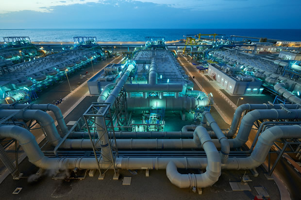 Dubai's massive desalination plant
