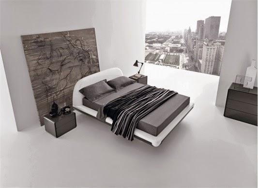 decoracao do quarto roupas de cama combinado com um design simples