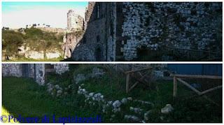 Particolari interni del castello di casertavecchia
