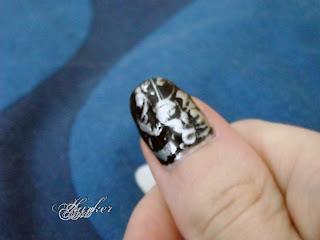 Alice Nine Rainbows nail art
