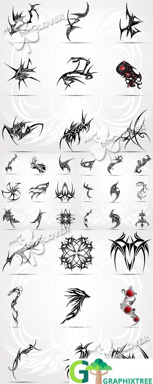 Vector Tattoo illustration 0495