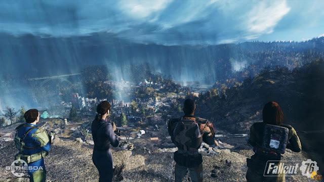 """""""Fallout 76"""" Game phiêu lưu hành động thế giới mở 2018"""