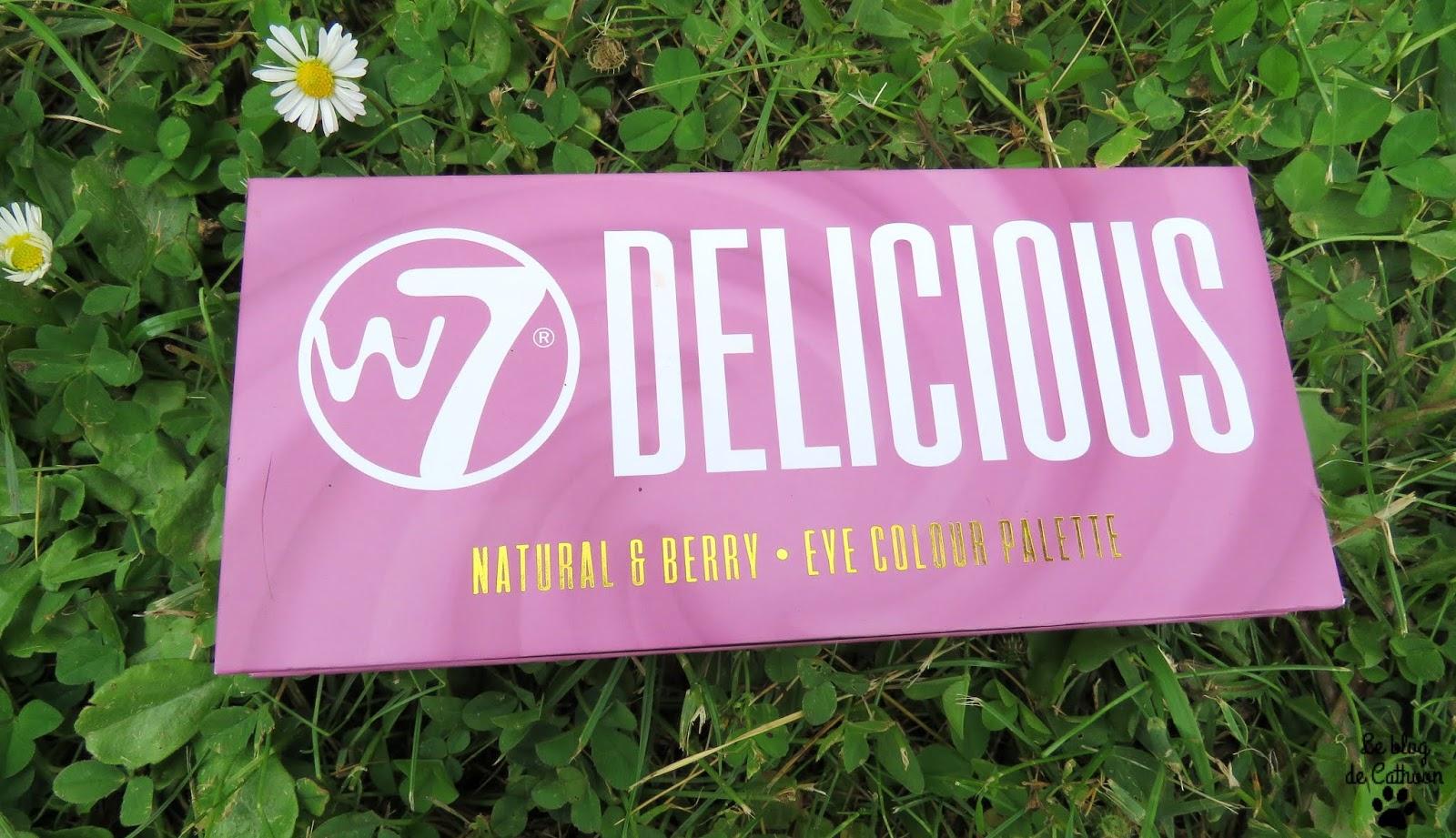 Delicious Natural & Berry - Palette de fard à paupières - W7