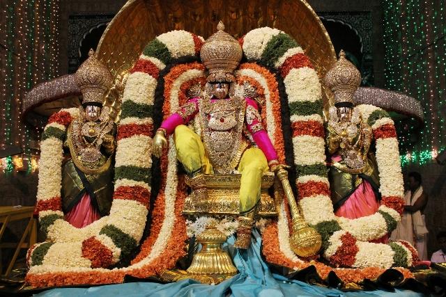 సాలకట్ల సాక్షాత్కార వైభవం; జులై 16 - 18