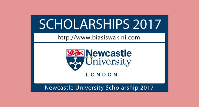 Newcastle University London Scholarship 2017