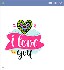 I Love You Sticker Image