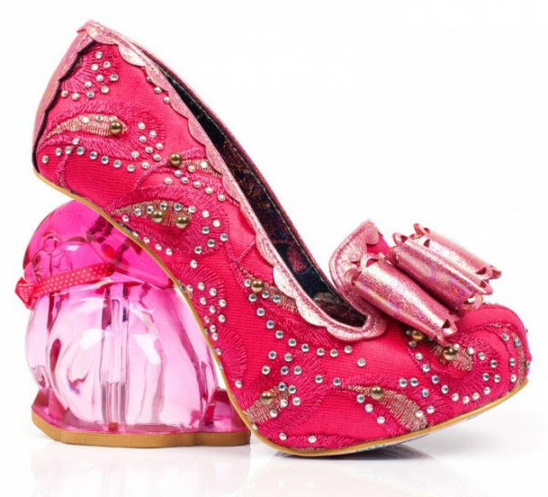 Irregular Choice hoppity bunny pink