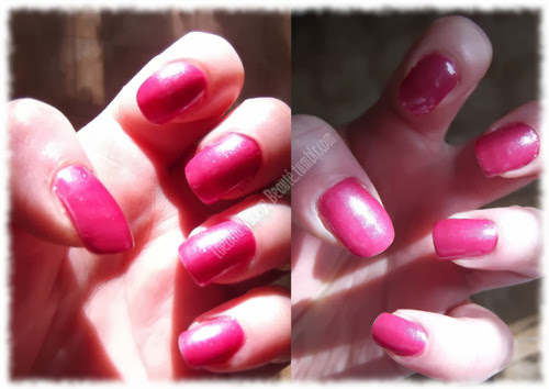 ELF Nail Polish Berry Pink