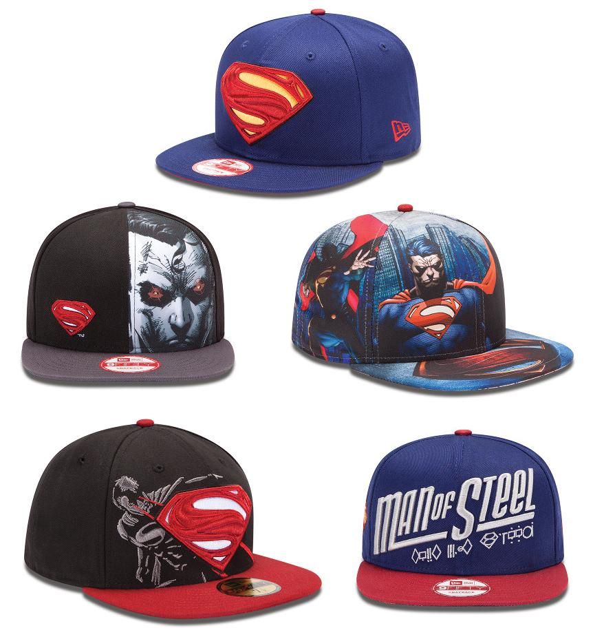 621cbd9c01971 DC Comics x New Era Superman Man of Steel Hat Collection - Superman Hero  Basic Logo