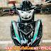 Sơn xe máy Exciter 150 màu đen bạc bóng bẩy cực đẹp