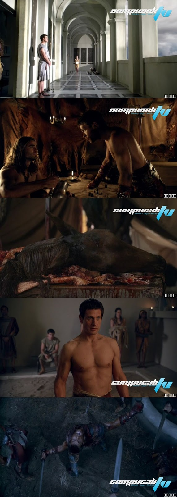 Spartacus War of the Damned Serie