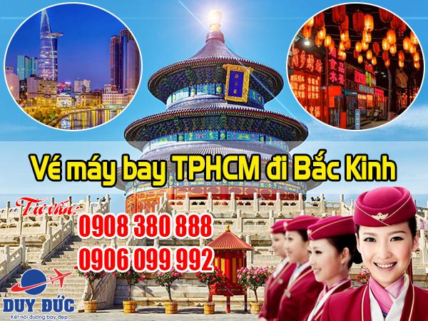 Vé máy bay TPHCM đi Bắc Kinh