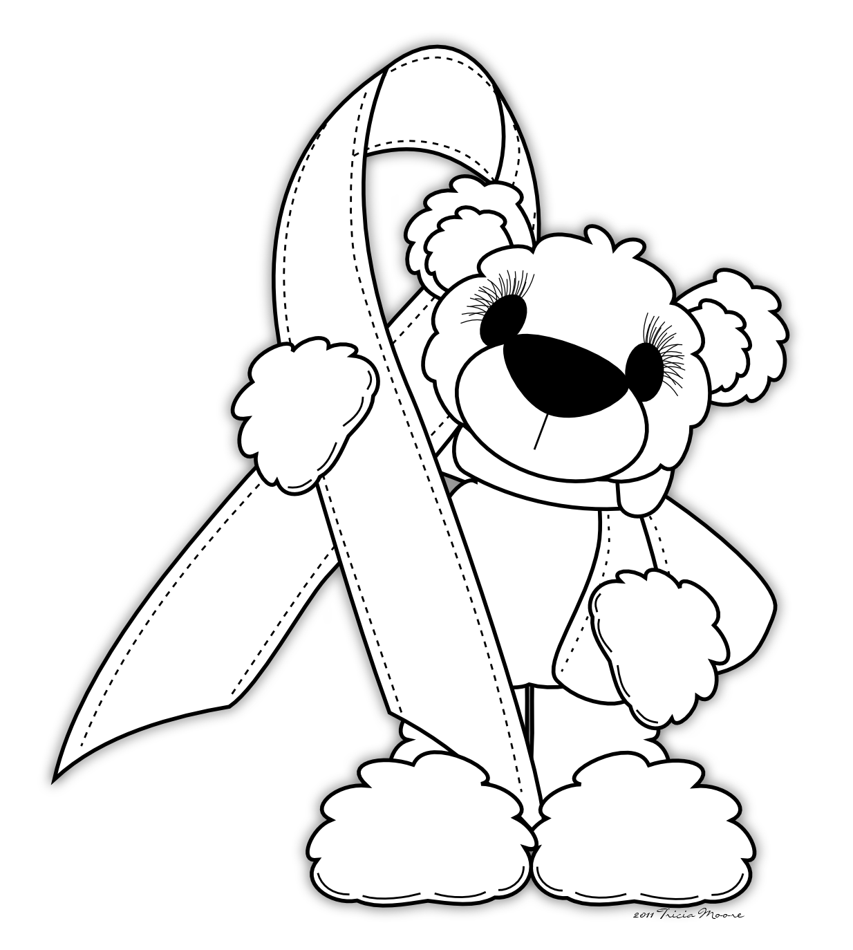 coloring pages for cancer awareness | Little Scraps of Heaven Designs: October 2011