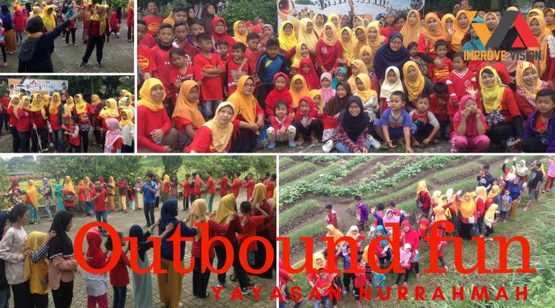 outbound fun yayasan nurrahmah sidoarjo wisata outbound pacet improve vision